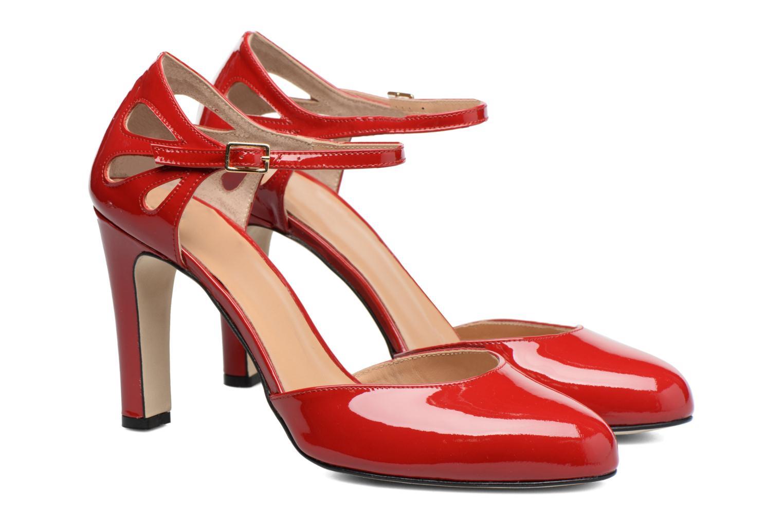 Escarpins Made by SARENZA Rock-a-hula #5 Rouge vue derrière