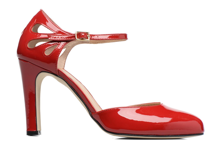 Escarpins Made by SARENZA Rock-a-hula #5 Rouge vue détail/paire