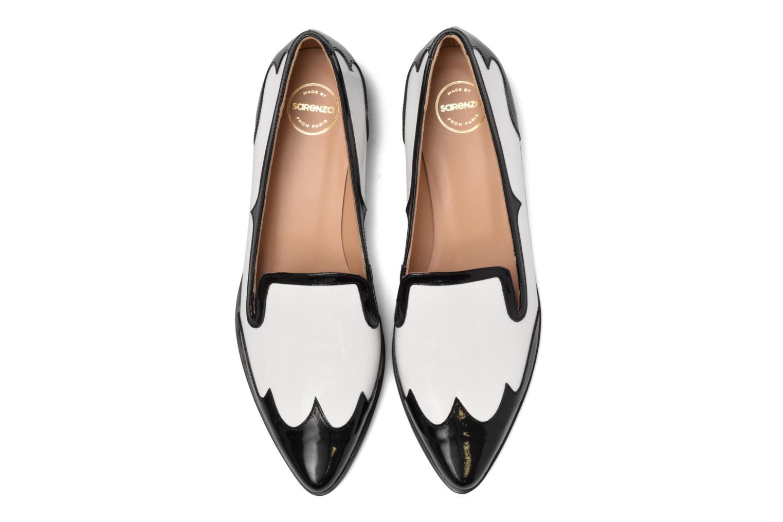 Loafers Made by SARENZA Vegas Lipstick #1 Vit bild av skorna på