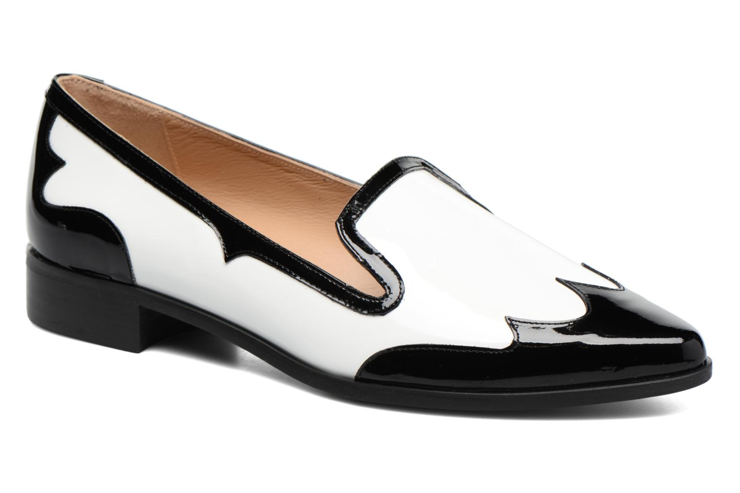 Loafers Made by SARENZA Vegas Lipstick #1 White view from the right