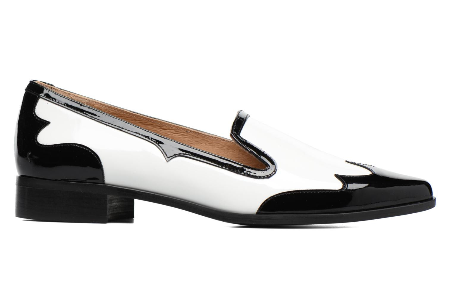 Loafers Made by SARENZA Vegas Lipstick #1 White detailed view/ Pair view