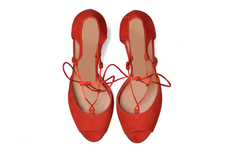 Sandales et nu-pieds Made by SARENZA Mexicoco #8 Rouge vue portées chaussures