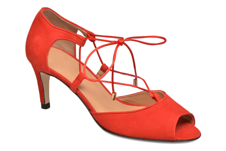 Sandales et nu-pieds Made by SARENZA Mexicoco #8 Rouge vue droite