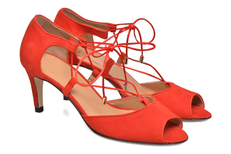 Sandales et nu-pieds Made by SARENZA Mexicoco #8 Rouge vue derrière