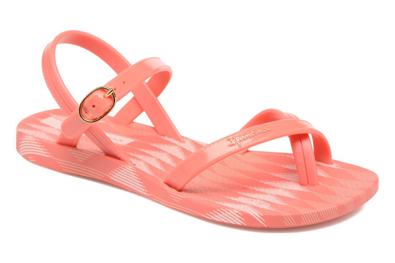 Sandales et nu-pieds Ipanema Fashion sandal IV Rose vue détail/paire