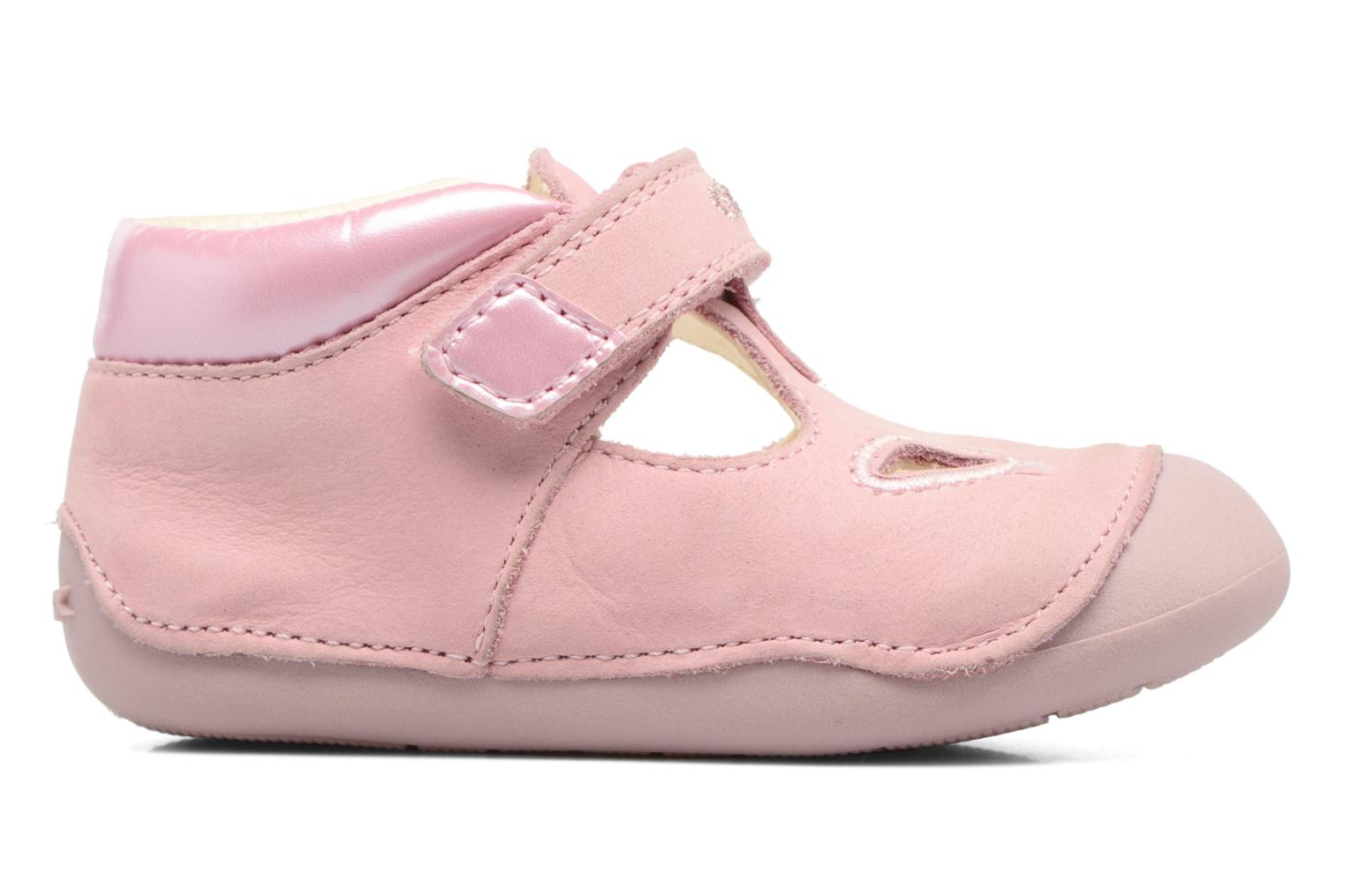 Velcro shoes Geox B Tutim G. A B6240A Pink back view