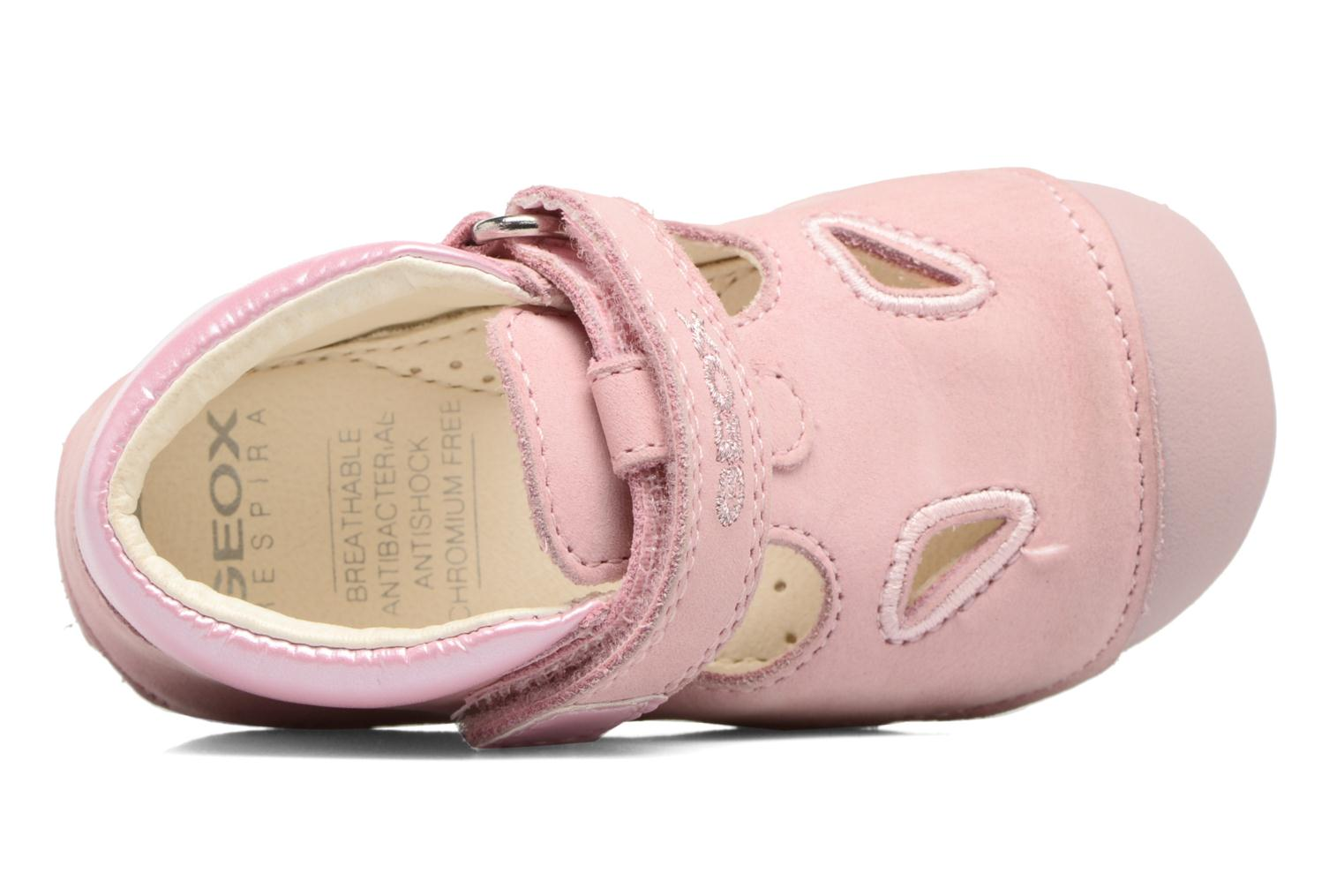 Velcro shoes Geox B Tutim G. A B6240A Pink view from the left