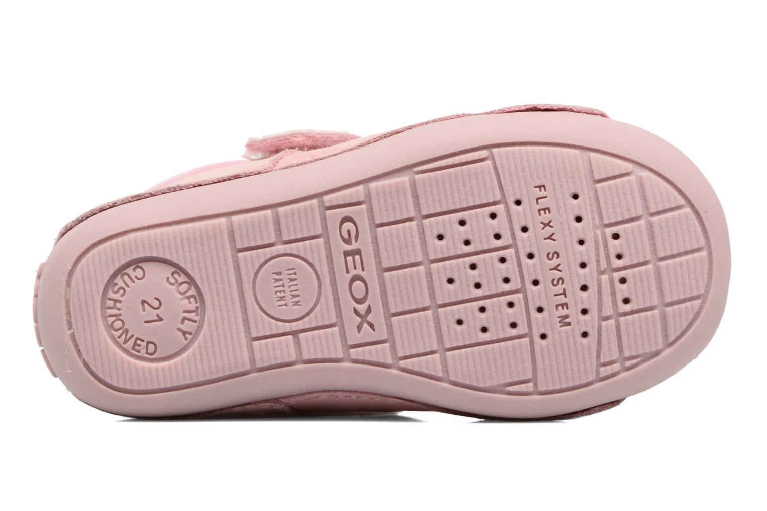 Velcro shoes Geox B Tutim G. A B6240A Pink view from above