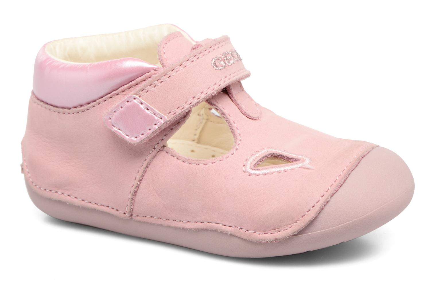 Velcro shoes Geox B Tutim G. A B6240A Pink detailed view/ Pair view