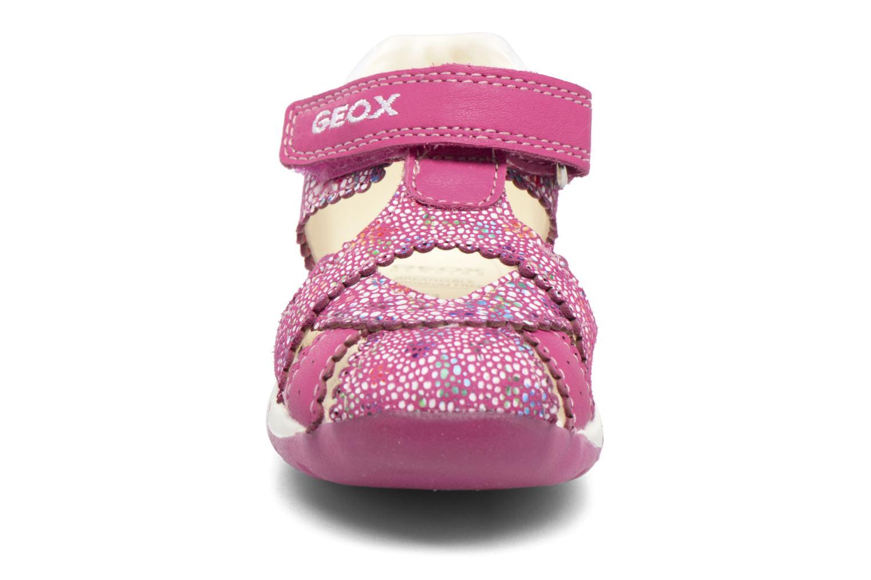 Sandales et nu-pieds Geox B Each G. A B720AA Rose vue portées chaussures