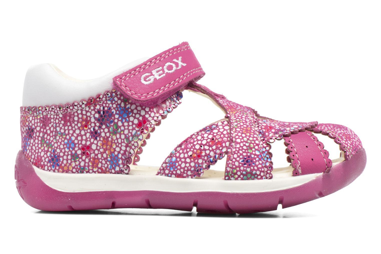 Sandales et nu-pieds Geox B Each G. A B720AA Rose vue derrière