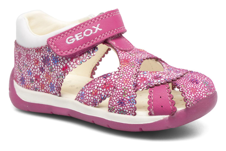Sandales et nu-pieds Geox B Each G. A B720AA Rose vue détail/paire