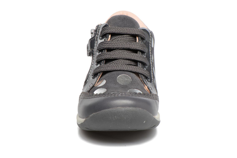 Chaussures à lacets Geox B Each G. C B720AC Gris vue portées chaussures