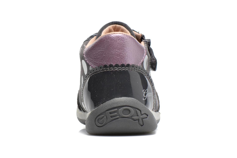 Chaussures à lacets Geox B Each G. C B720AC Gris vue droite