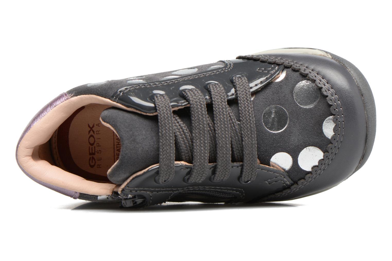 Chaussures à lacets Geox B Each G. C B720AC Gris vue gauche