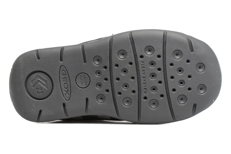 Chaussures à lacets Geox B Each G. C B720AC Gris vue haut