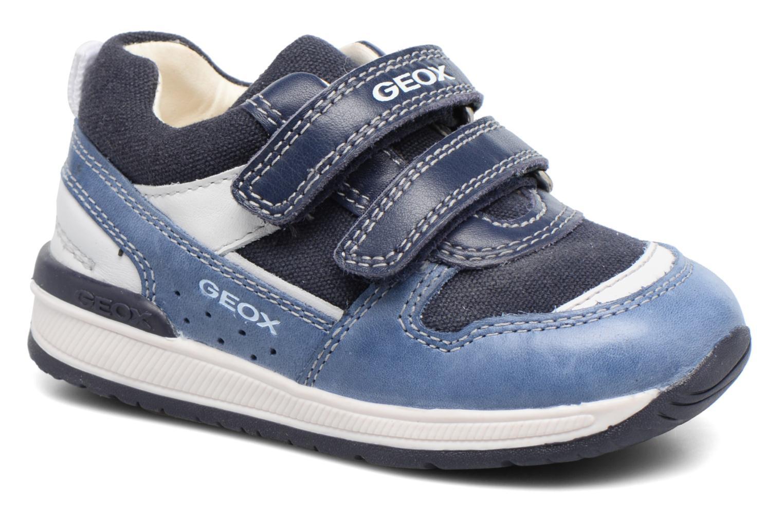 Baskets Geox B Rishon B. C B720RC Bleu vue détail/paire