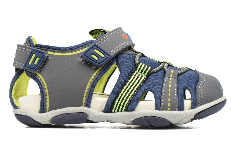 Sandales et nu-pieds Geox B S.Agasim B. D B721AD Bleu vue derrière