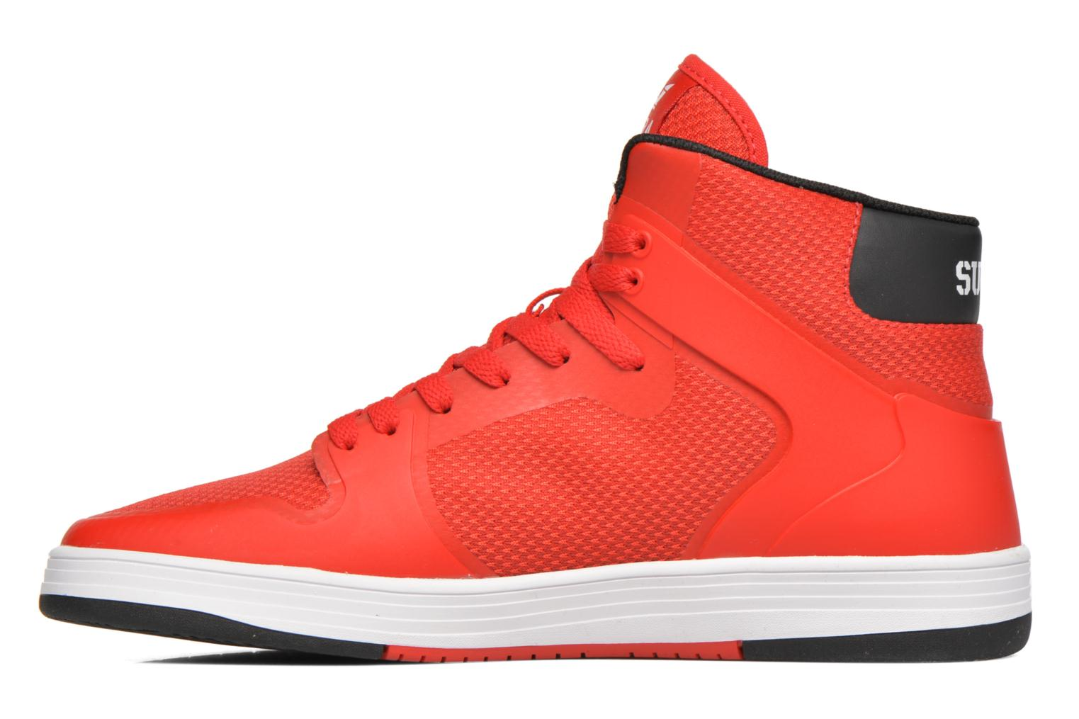Baskets Supra Vaider 2.0 Rouge vue face