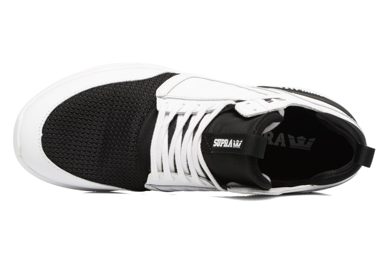 Baskets Supra Method Blanc vue gauche