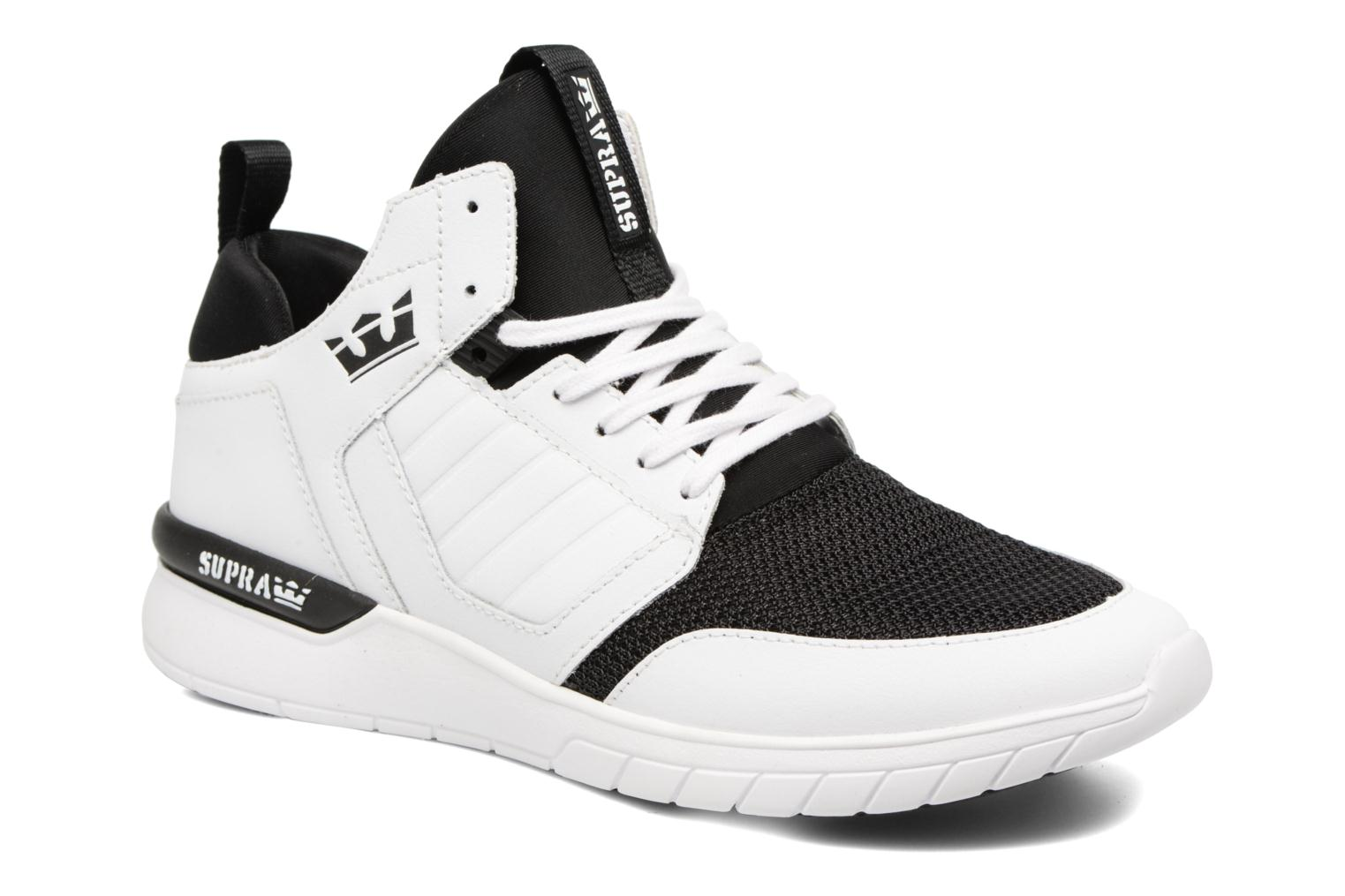 Baskets Supra Method Blanc vue détail/paire
