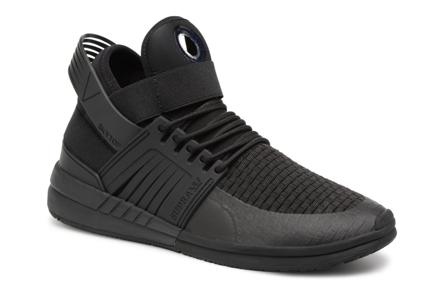 Sport shoes Supra Skytop V Black detailed view/ Pair view