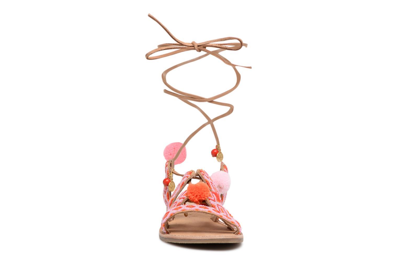 Sandalias L'Atelier Tropézien Nina Rosa vista del modelo