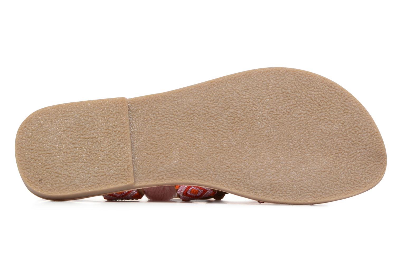 Sandales et nu-pieds L'Atelier Tropézien Nina Rose vue haut