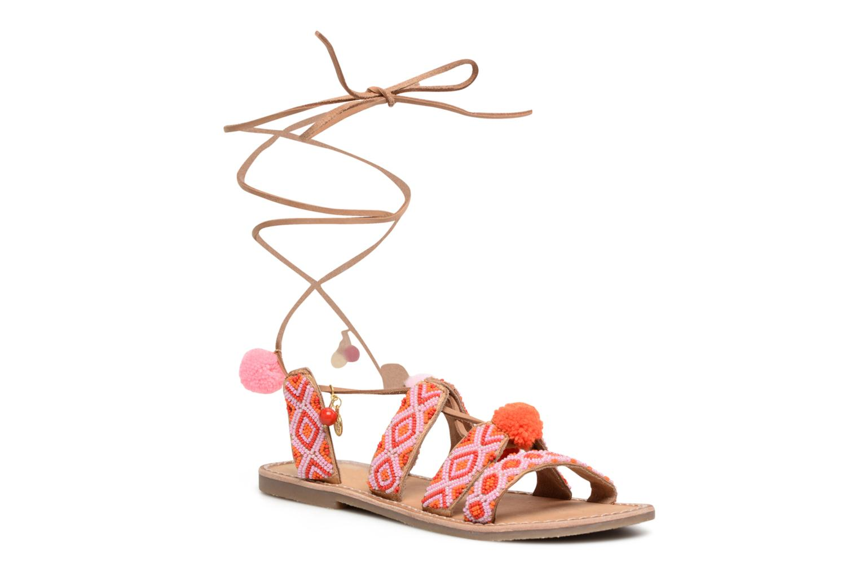 Sandalias L'Atelier Tropézien Nina Rosa vista de detalle / par