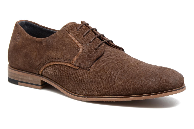 Zapatos con cordones Redskins Nesko Marrón vista de detalle / par