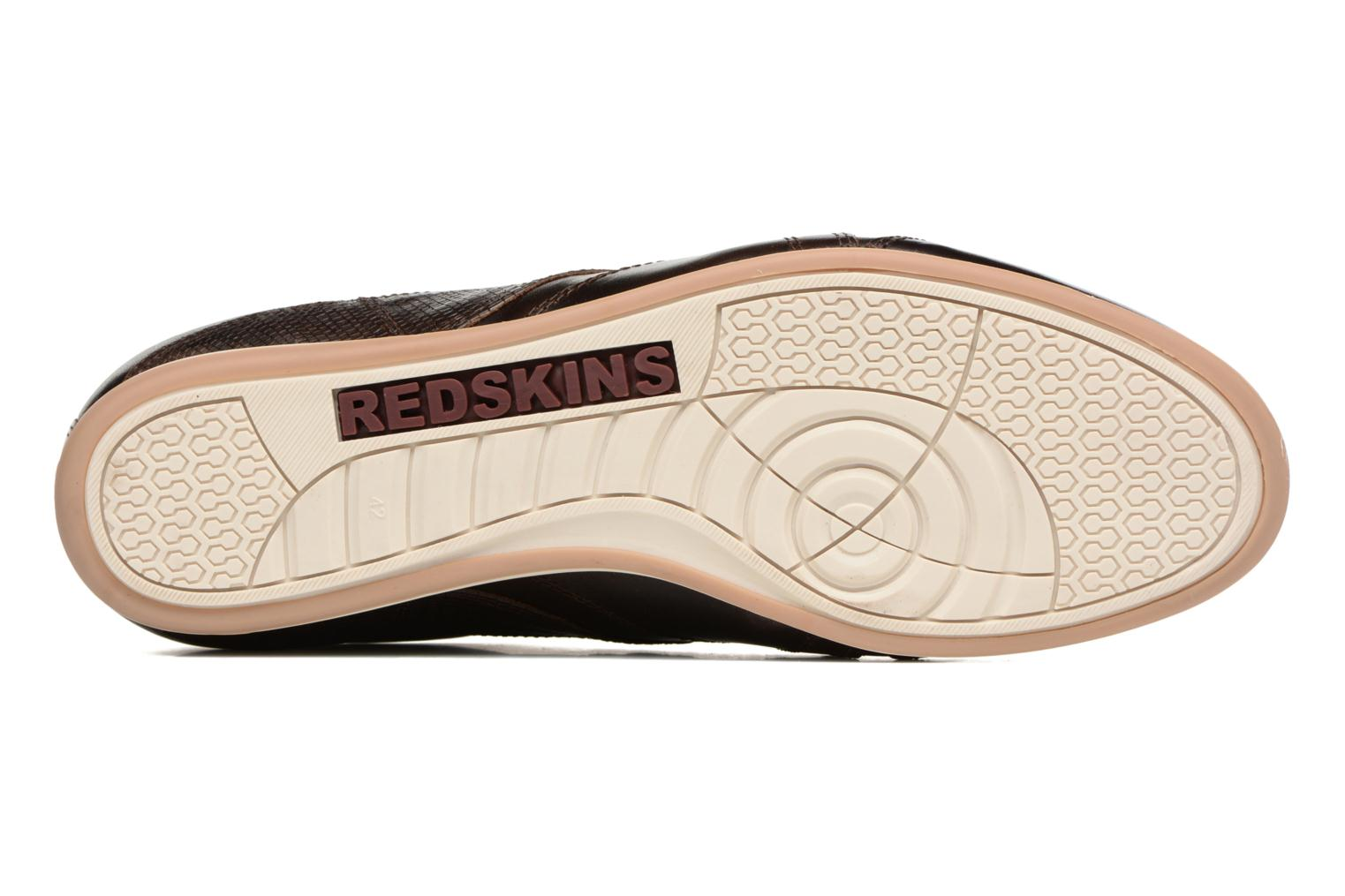 Baskets Redskins Witig Marron vue haut