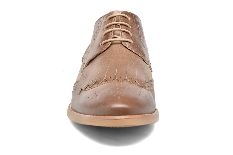 Chaussures à lacets Georgia Rose Nibule Marron vue portées chaussures