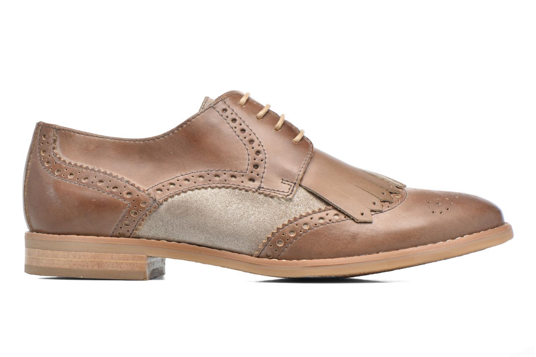 Chaussures à lacets Georgia Rose Nibule Marron vue derrière