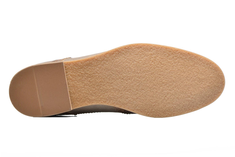 Chaussures à lacets Georgia Rose Nibule Marron vue haut