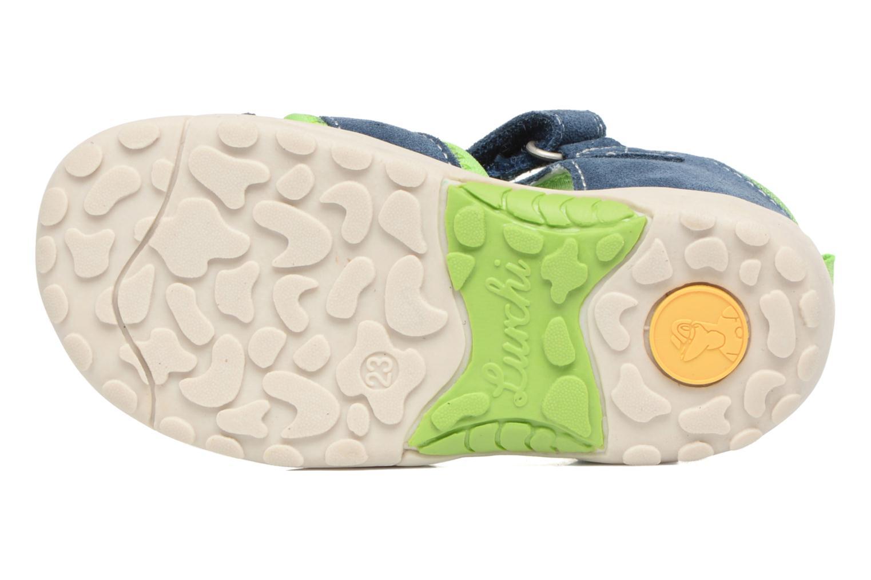 Sandales et nu-pieds Lurchi by Salamander Maxy Bleu vue haut