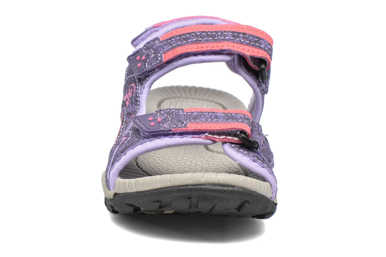 Sandales et nu-pieds Kamik Lobster Violet vue portées chaussures