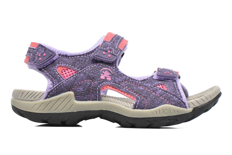 Sandales et nu-pieds Kamik Lobster Violet vue derrière