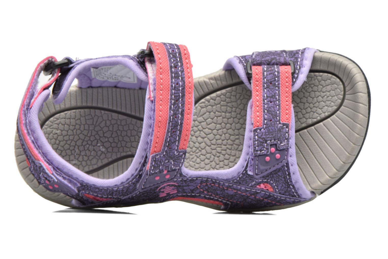 Sandales et nu-pieds Kamik Lobster Violet vue gauche