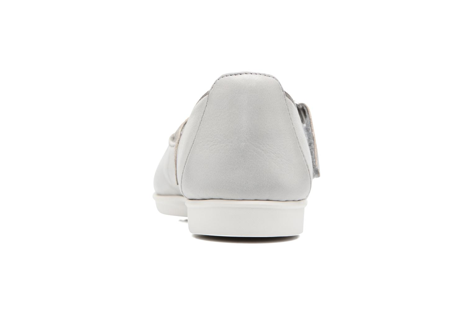Ballet pumps Clarks Tri Axis Grey view from the right