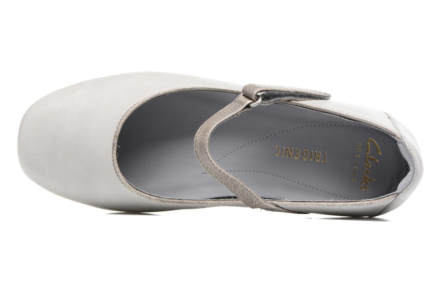 Ballet pumps Clarks Tri Axis Grey view from the left