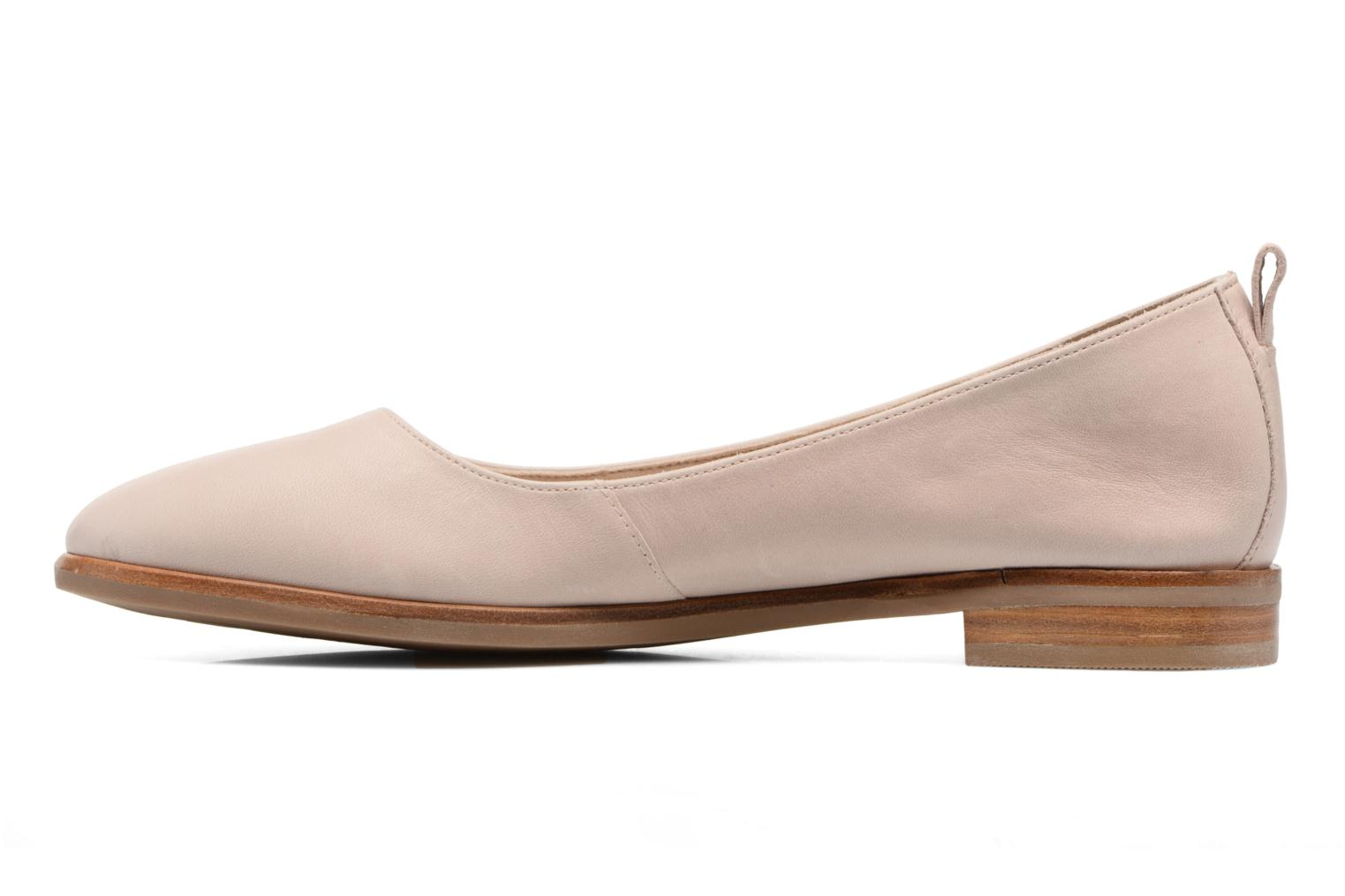 Ballet pumps Clarks Alania Rosa Pink front view