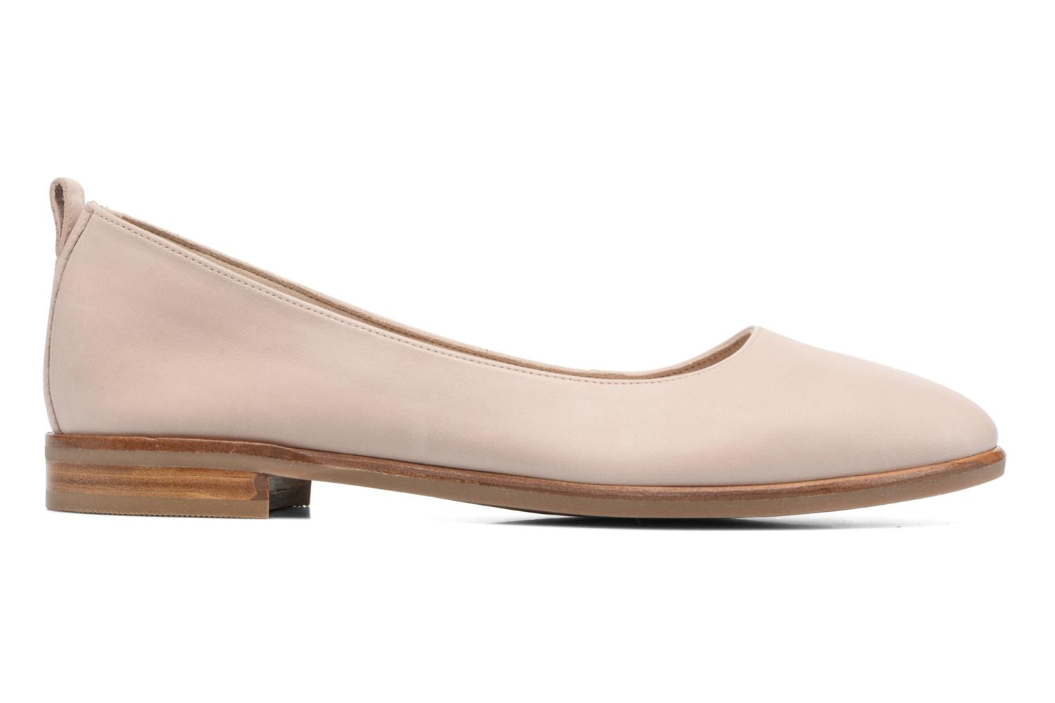 Ballet pumps Clarks Alania Rosa Pink back view