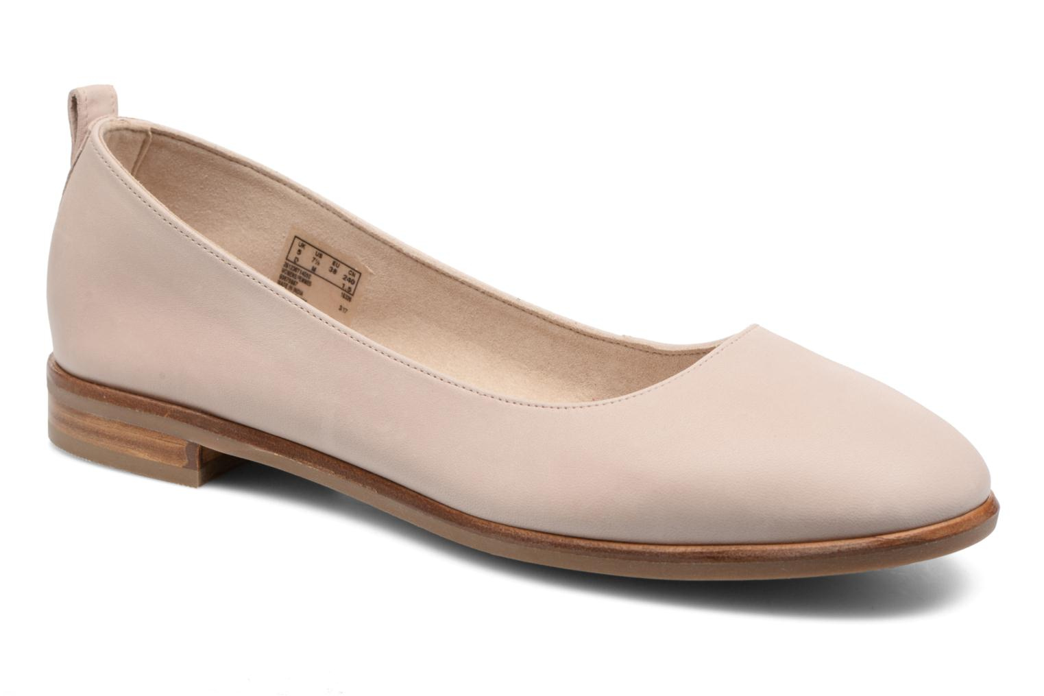 Ballet pumps Clarks Alania Rosa Pink detailed view/ Pair view