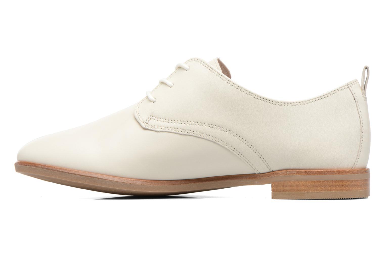 Chaussures à lacets Clarks Alania Posey Blanc vue face