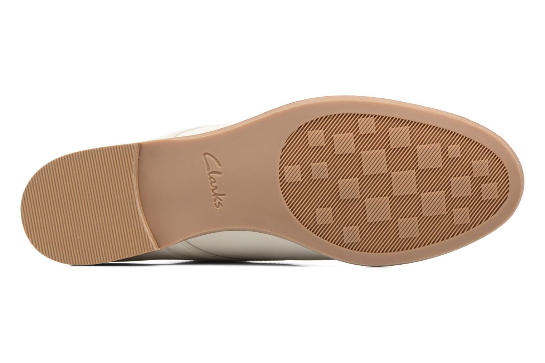 Chaussures à lacets Clarks Alania Posey Blanc vue haut