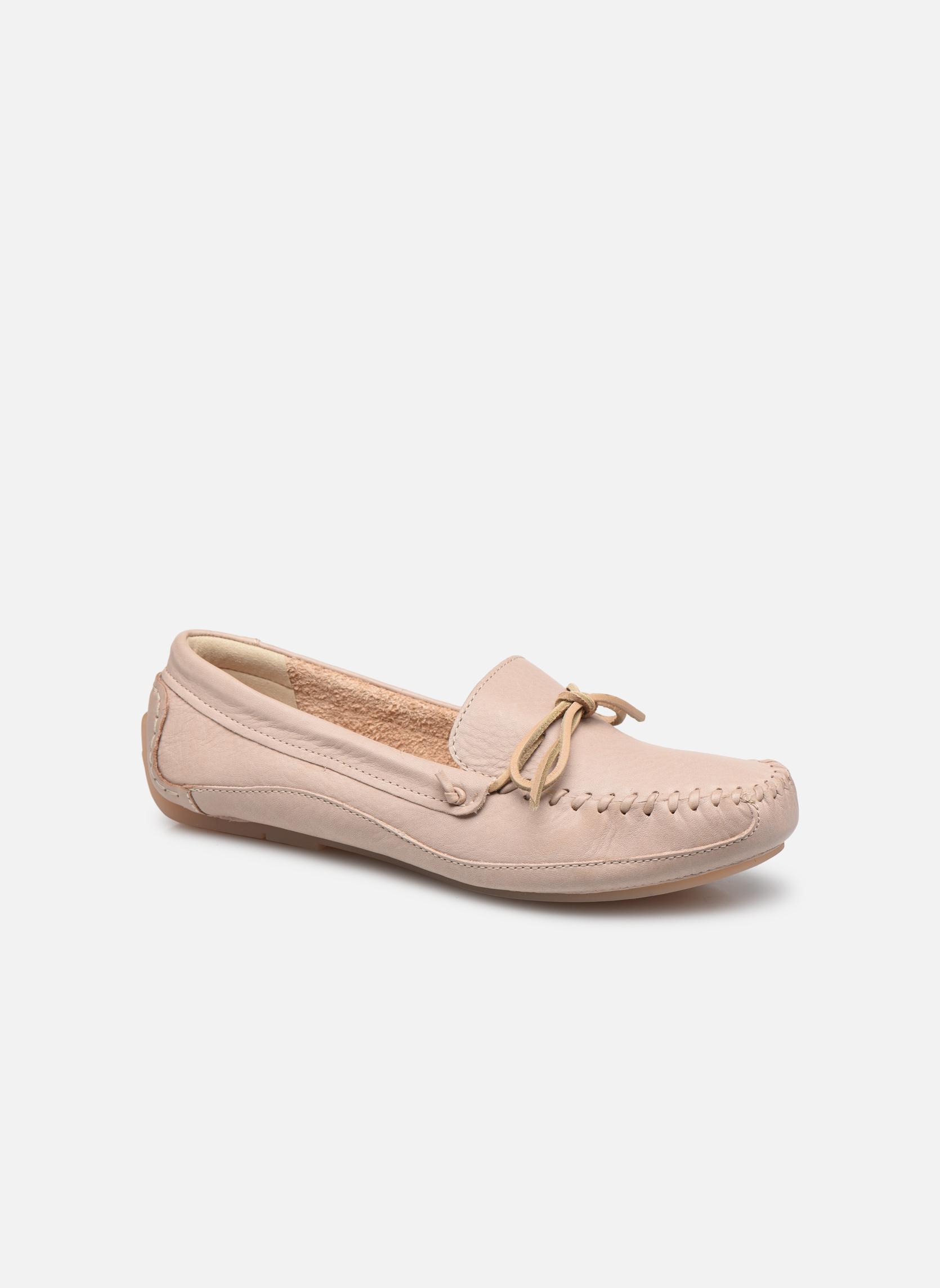 Loafers Clarks Natala Rio Beige detaljeret billede af skoene