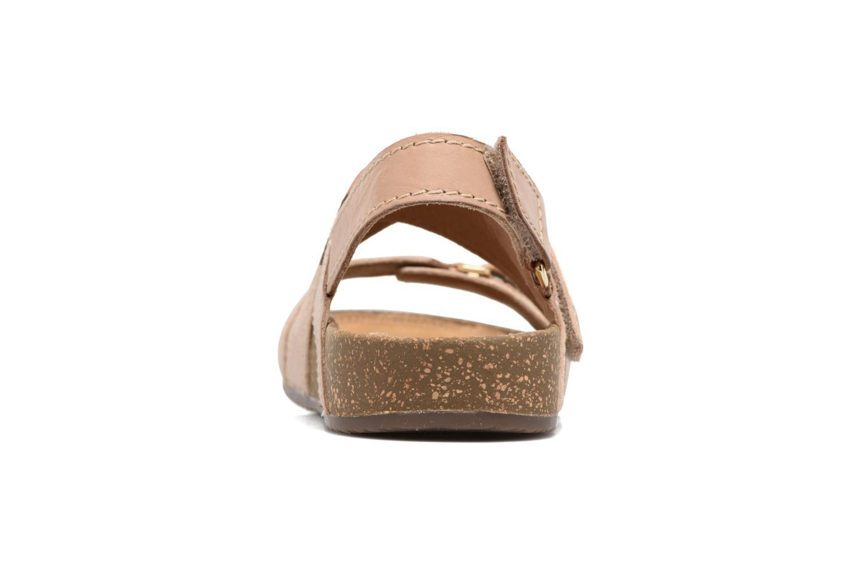 Sandales et nu-pieds Clarks Rosilla Essex Marron vue droite