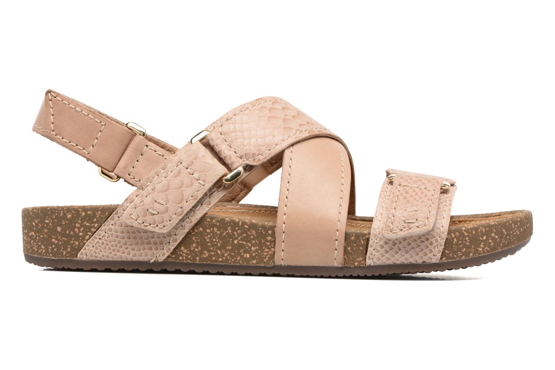 Sandales et nu-pieds Clarks Rosilla Essex Marron vue derrière