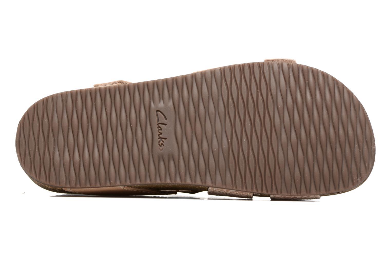 Sandales et nu-pieds Clarks Rosilla Essex Marron vue haut