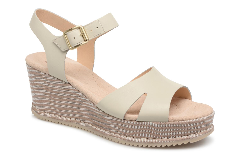 Clarks Akilah Eden (Blanc) - Sandales et nu-pieds chez Sarenza (325883)